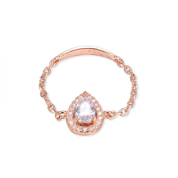 bague-chaine-poire-or-rose-zirconium