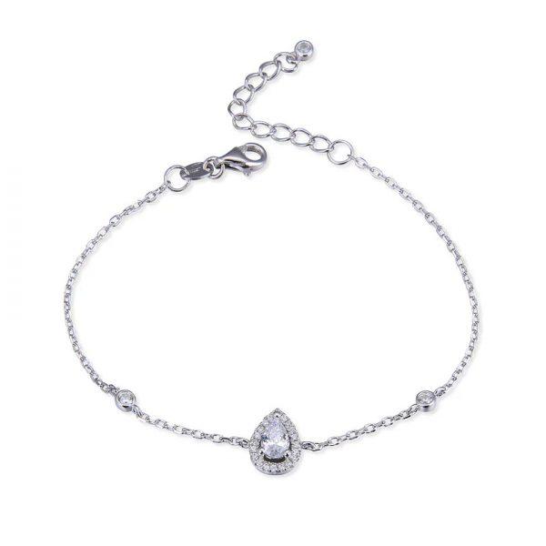 bracelet-en-argent-poire-zircon