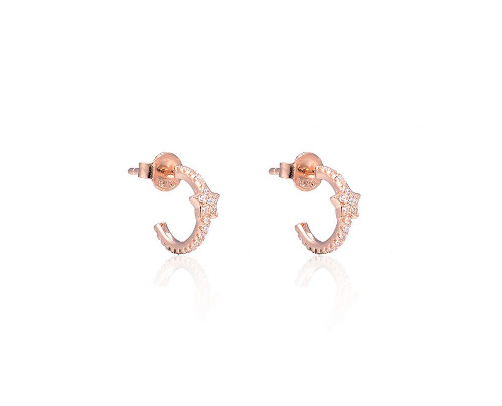 boucles-d-oreilles-etoile-plaque-or-rose