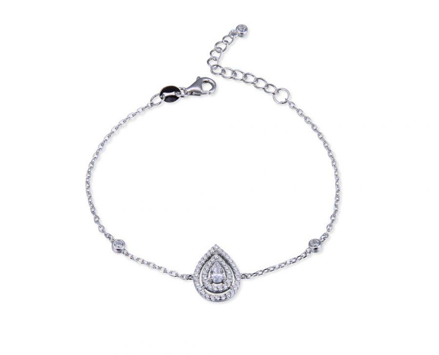 bracelet-grande-poire-chaine-argent