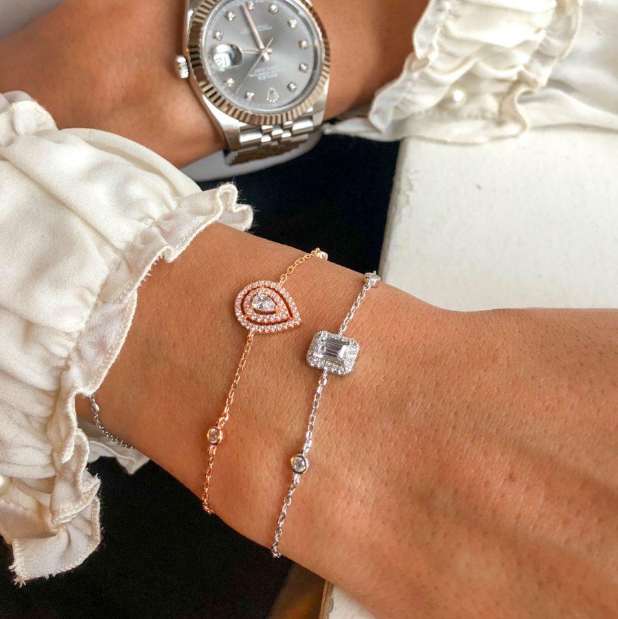 bracelet-chaine-poire-or-rose-zirconium
