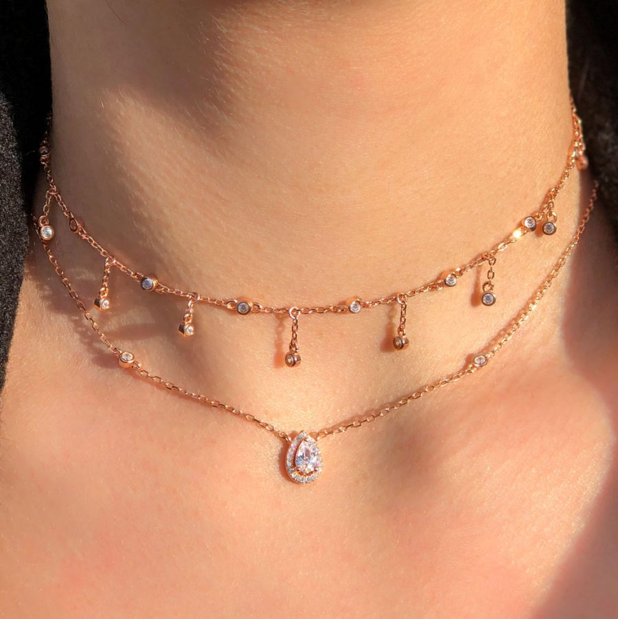 collier-chaine-goutte-rose-gold
