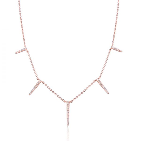 collier-a-pointes-brillantes-plaque-or-rose