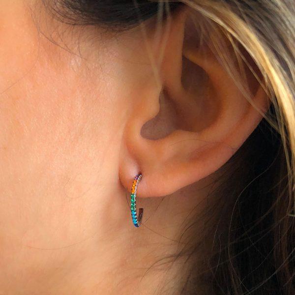 creoles-multicolores-argent-925-zirconium