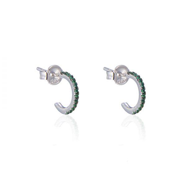 mini-creoles-argent-pierres-vertes