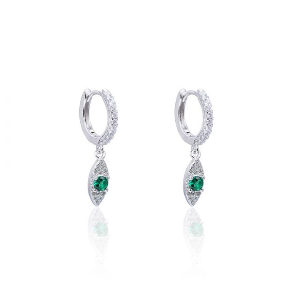 creoles-pendentifs-yeux-verts-argent-zirconium