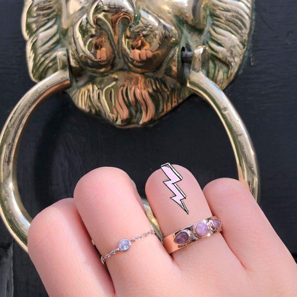 bague-boheme-pierres-roses-ajustable