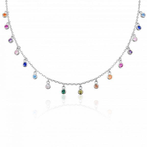 choker-pierres-multicolores-argent-925