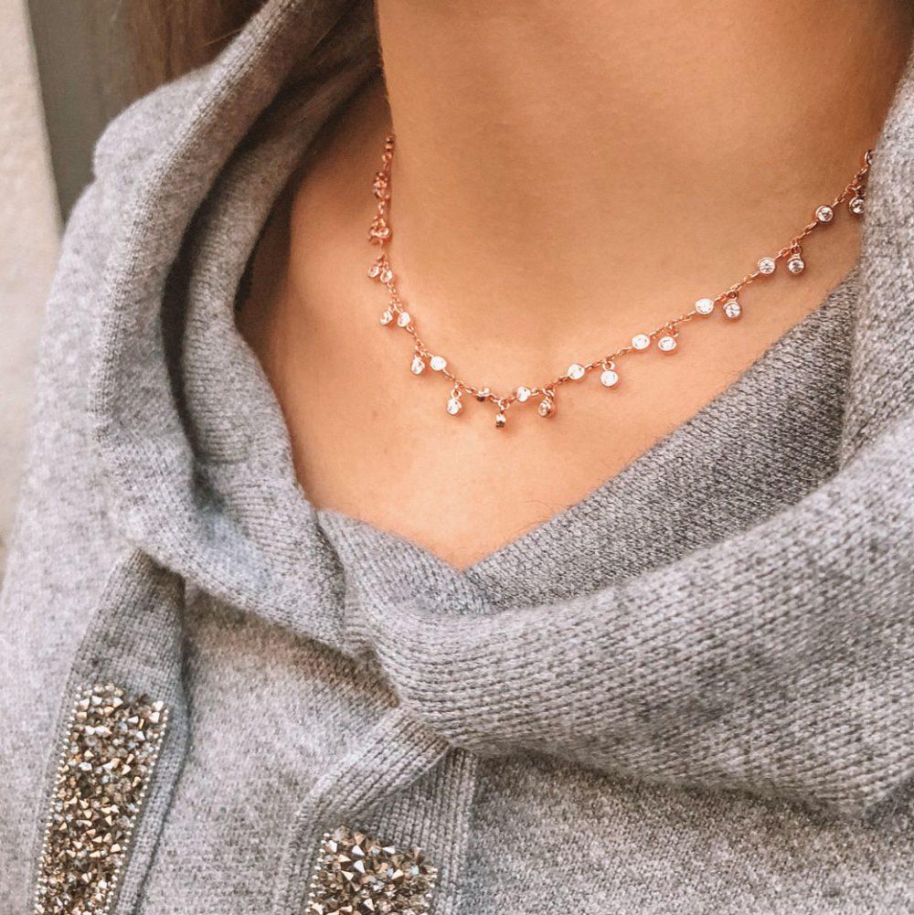 collier-petits-ronds-pendants-plaque-or-rose