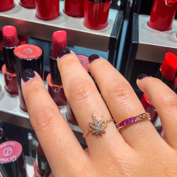 bague-chainette-feuille-cannabis-rose-gold