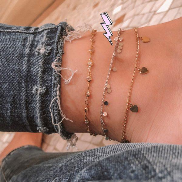 bracelet-de-cheville-argent-petits-ronds