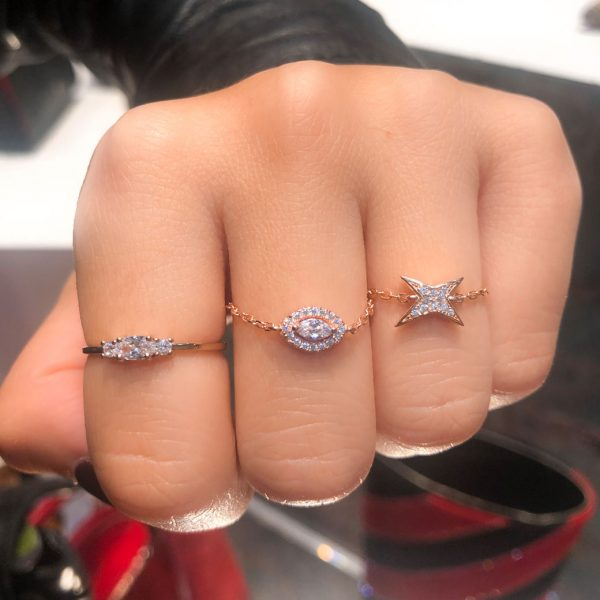 bague-chaine-oeil-or-rose