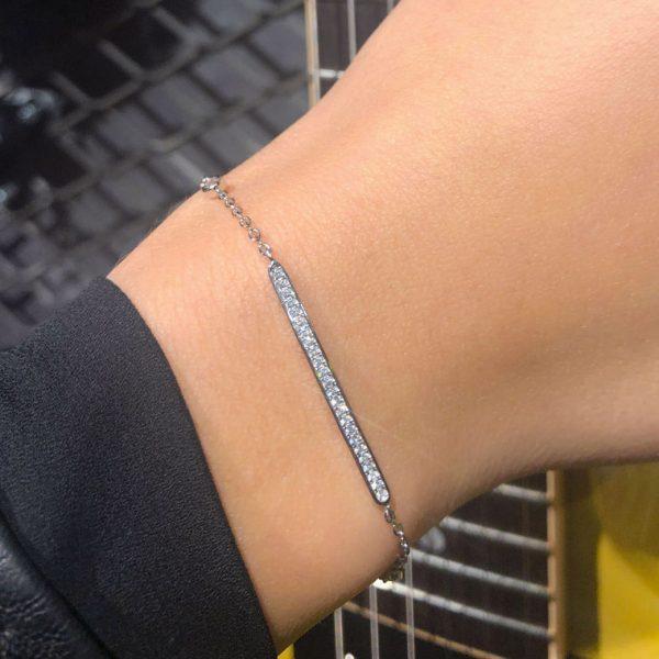 bracelet-barre-fine-argent-rhodie-zirconium