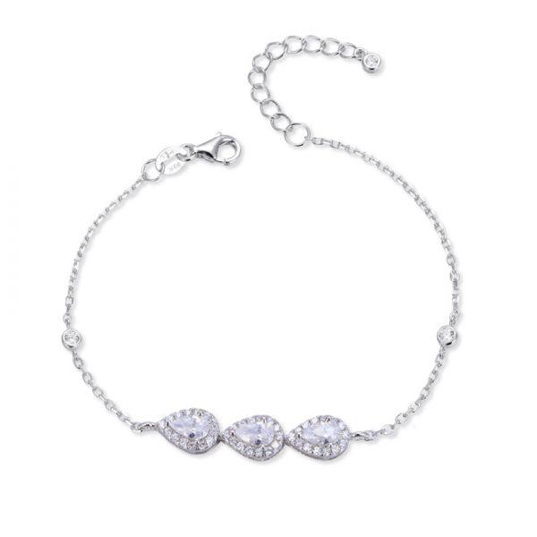 bracelet-chaine-3-poires-argent
