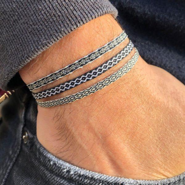 3-bracelets-manchette-homme-tissu