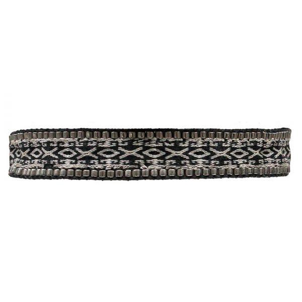 bracelet-ethnique-homme-tissu-noir-gris-motifs-perles