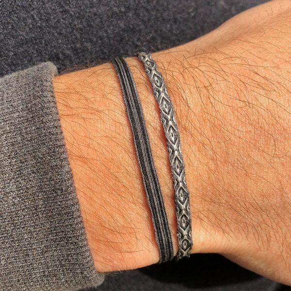 bracelet-pour-homme-en-tissu-motifs