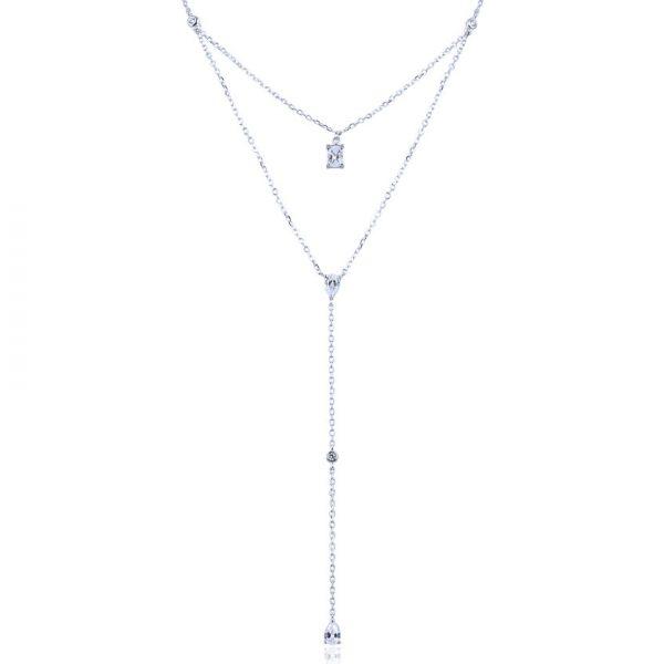 collier-double-chaine-argent-pendentif-poire-zirconium