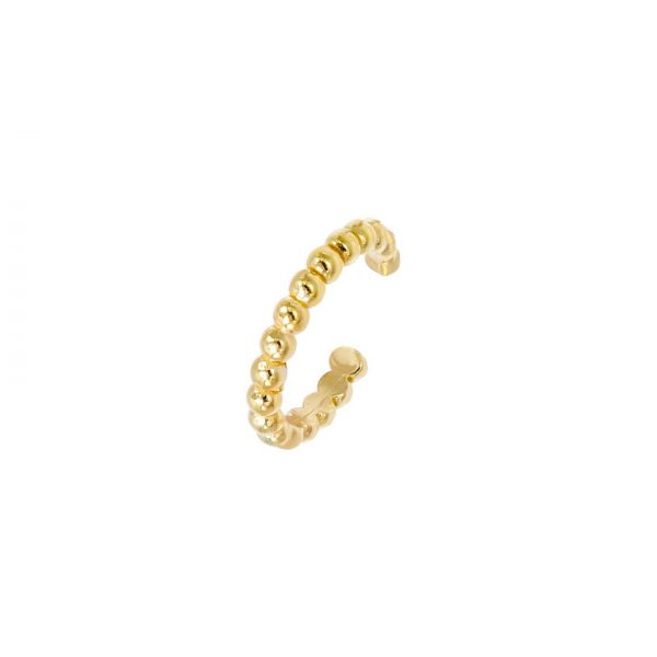 anneau-de-cartilage-boules-plaque-or-jaune