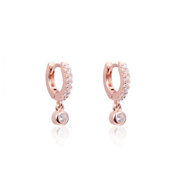mini-creoles-breloque-pendentif-plaque-or-rose-10-mm