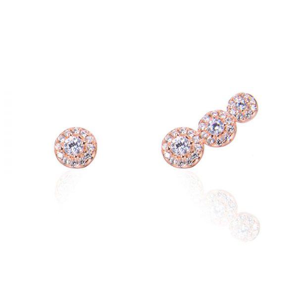 boucles-oreilles-asymetriques-ronds-plaque-or-rose