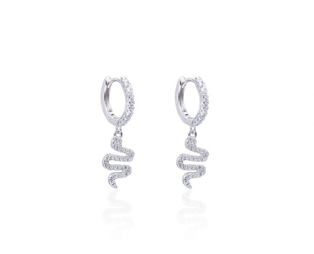 mini-creoles-serpent-en-argent-zirconium