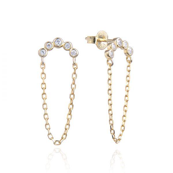 boucles-oreilles-chaine-pendante-dorees-demi-lune-zirconium