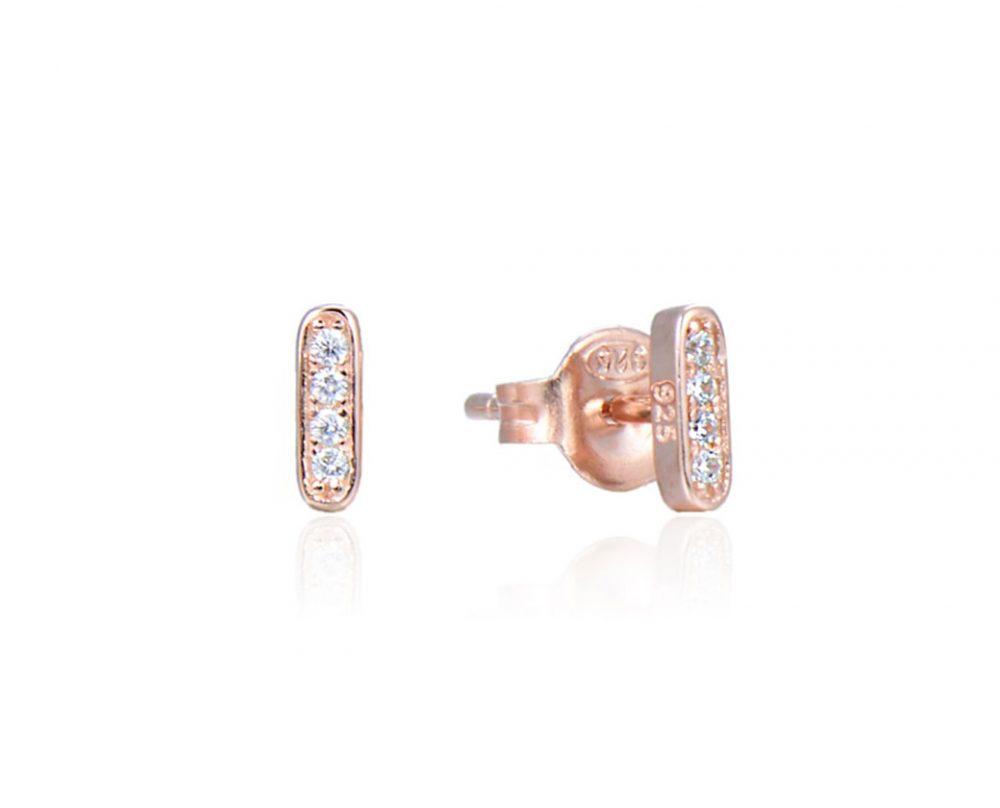 boucles-oreilles-mini-barres-brillantes-plaque-or-rose-zirconium