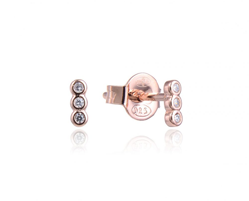 mini-boucles-oreilles-barre-3-brillants-ronds-plaque-or-rose