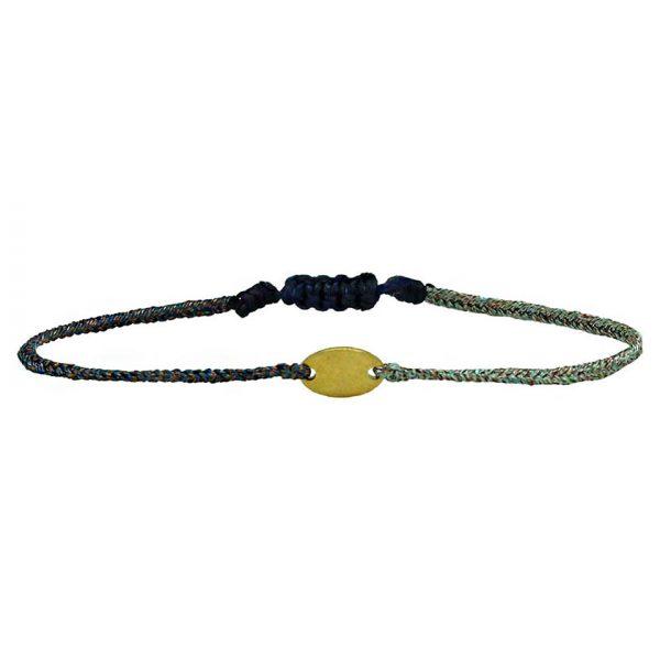 bracelet-bleu-cordon-lurex-ovale-dore