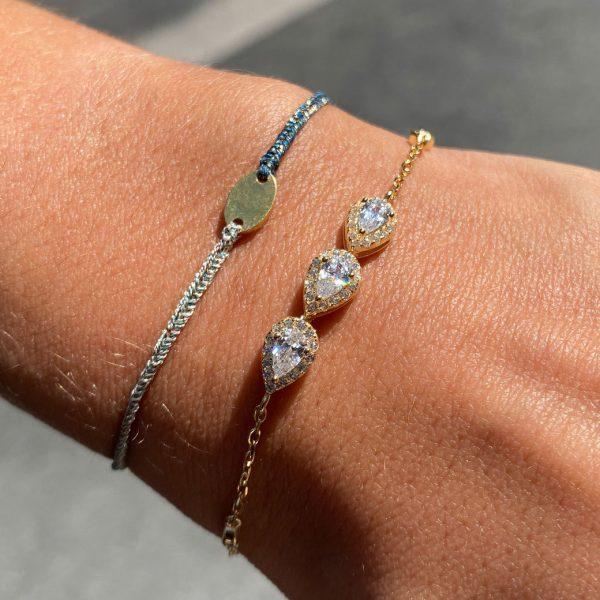 bracelet-cordon-lurex-bleu-bijou-dore