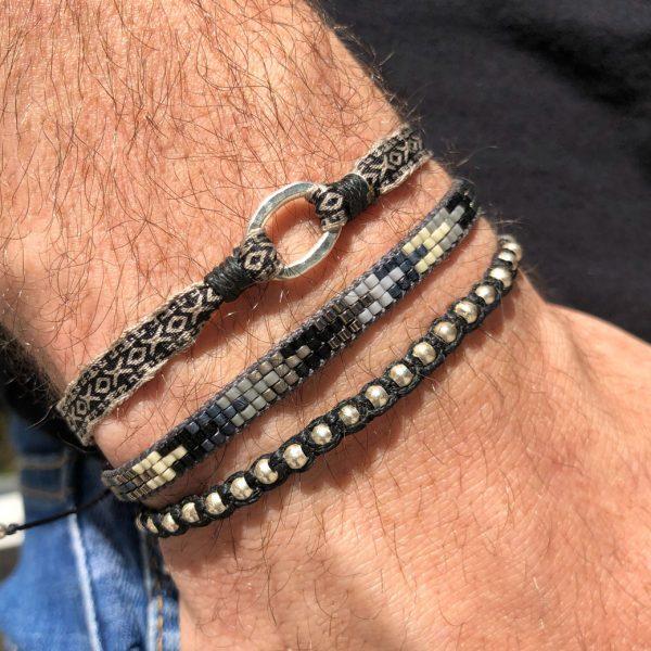 bracelet-homme-perles-japonaises-motifs