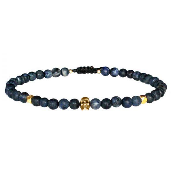 bracelet-homme-pierres-bleu-tete-de-mort-or