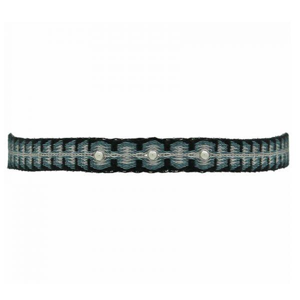 bracelet-tisse-bleu-noir-billes-argent-pour-homme