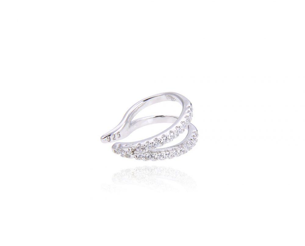 faux-piercing-cartilage-oreille-pointe-argent-zirconium
