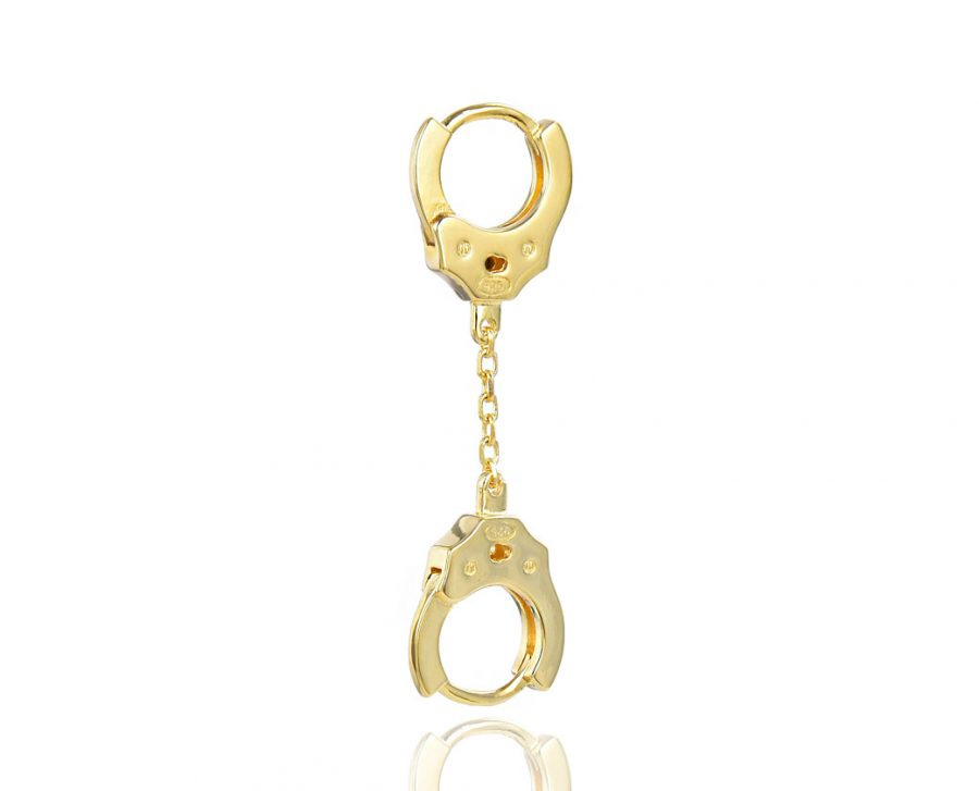 petite-boucle-oreille-menottes-chaine-dore-plaque-or-jaune